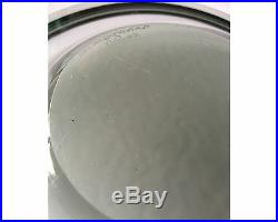 1957 Mid Century Modern Holmegaard Per Lutkin Smoke Glass Bowl