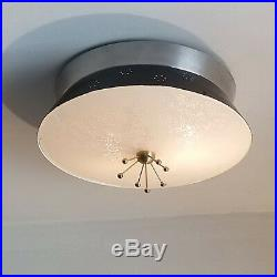 459b 60s 70s Vintage Ceiling Light Lamp Fixture atomic midcentury eames retro
