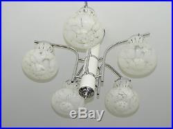 60s 70s midcentury modern MURANO glass art chandelier, Venini Mazzega Vistosi