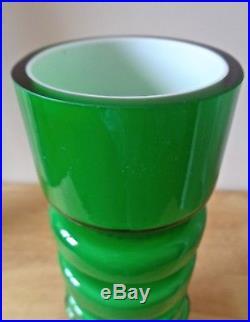 ALSTERFORS MID CENTURY MODERN ART GLASS VASE. Per-Olof Ström. SWEDEN