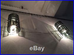 ARTELUCE Ico Parisi Ceiling Lamp + 2 Sconces glass design Mid Century Modern 60s