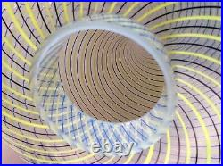 AURELIANO TOSO MURANO GLASS MUSHROOM LAMP 70 MID-CENTURY venini seguso leucos