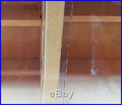 Alvar Aalto solid birch cabinet, Finmar 1934, sideboard, glass doors, midcentury