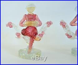 BAROVIER Vtg Mid Century Italian Modern Venetian Murano Glass Figurine ITALY