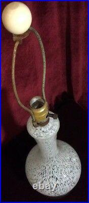 Beautiful MID Century Murano Glass Lamp 17