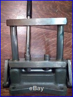 Dunbar Glass reloading press mid century, very rare Works great