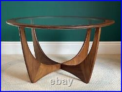 Exceptional G Plan Astro Midcentury 1960s Teak And Glass Coffee Table