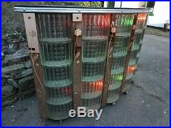 Fantastic Vintage/retro MID Century Bar With Glass & Lights Good Condition