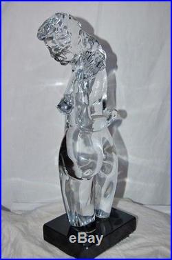 Fine Venus Di Milo Mid Century MURANO Art Glass Sculpture Loredano Rosin Dino