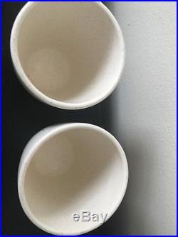 Franciscan STARBURST Cup Retro Atomic Mid Century Modern Set Of 3 Glasses