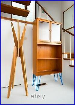 G Plan Mid Century Teak Bookcase Glass display case