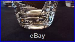 Georges Briard Drink Now-Pay Later Mid-Century Bar Glasses Set Of 6 mint