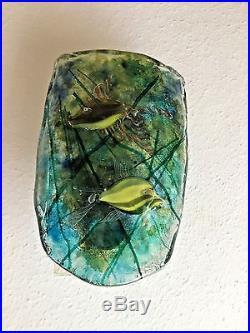 Gino Canedese Murano Glass Aquarium 1950s Mid Century Modern