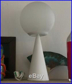Gio Ponti Bilia table desk atomic lamp light vintage glass design mid century