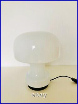 Glashütte Limburg Mushroom Table Lamp Mid Century Modern 1960s