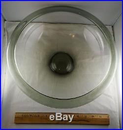Holmegaard Per Lutken Large Provence Mid Century Glass Bowl
