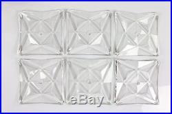 Huge Kinkeldey Glass Chandelier Modern Mid Century Design Vintage 1960's #1/4