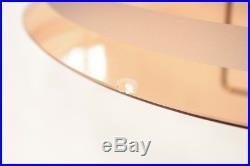 Italian floor lamp 1960s midcentury brass lamp curved glass Fontana Arte age
