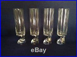 Joe Colombo Riedel Smoke Glass 7.5 Mid Century EUC