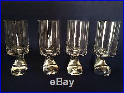 Joe Colombo Riedel Smoke Glass 7 Mid Century EUC