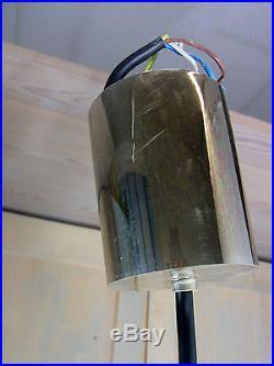 LA2/132 Vintage Glass Ball Pendant Chandelier Limburg Doria Mid Century