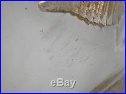 LARGE Mid Century Modern ITALIAN Art Glass ERCOLE BAROVIER 1958 Autunnale BOWL
