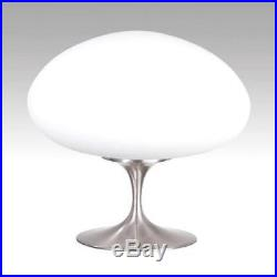 Laurel Lamp Shade Mushroom Glass Mid Century Danish Modern Atomic 1960s Vintage