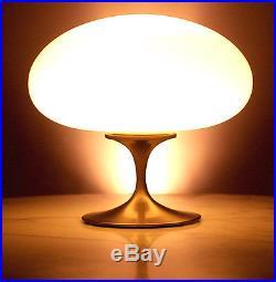 Laurel Mushroom Lamp Glass Replacement Shade Globe Mid Century Modern Retro