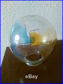MEMBRANE Toni Zucchini for VENINI murano Globe Glass Lamp Mid Century Modernism