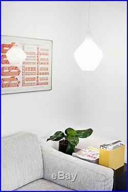 MID CENTURY MODERN FINLAND LISA JOHANSSON-PAPE 1954 SIPULI GLASS PENDANT LAMP