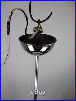 Mid Century Atomic Sputnik Cinema Chandelier 13 Glass balls era Kaiser Sciolari