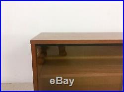 Mid Century Avalon Teak Modular Glass Cabinet Ladderax Style