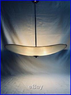 Mid Century Czech Glass Ceiling Light / Pendant 1950s 1960s
