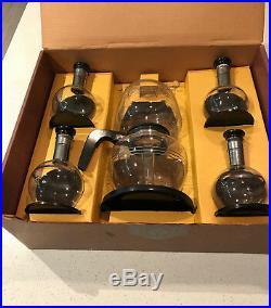 Mid-Century Inland Glass Vacuum Coffee Maker & Carafettes Pleasure Chest