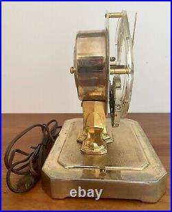 Mid Century Modern 50s United Clock UNITIME Mod. 999 Mantel Desk Clock Tested