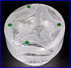 Mid Century Modern Barovier Toso Murano Art Glass Vase Bowl Italian