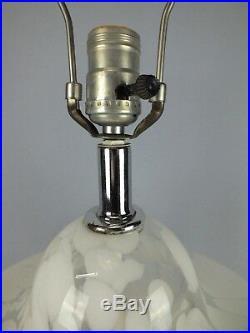 Mid Century Modern Murano Glass Pagoda Form Lamp c1970 Carlo Nason Mazzega ATR
