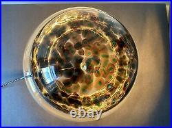 Mid-Century Modern Table Lamp By Gae Aulenti Vistosi Handblown Glass 1960's
