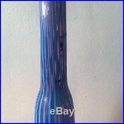 Mid Century Modern Venini Murano Venetian Glass Decanter c. 1950s