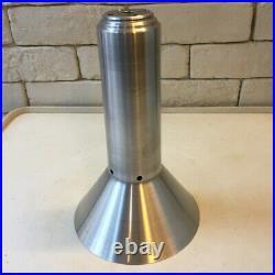 Mid-Century Raak Style Smoke Glass Pendant Lamp