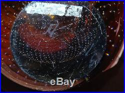 Mid Century Scandanavian Nuutajarvi Notsjo Art Glass Vase