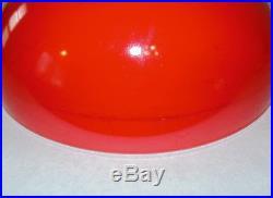 Mid Century Vintage Pyrex Glass Friendship Birds Cinderella Nesting Bowl Set 3