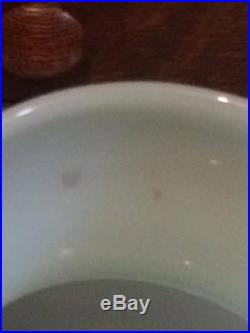 Mid century Blue opaline glass table lamp