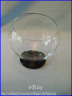 Morgantown glass Oddball mid century Pretzel chip ice snack highball pitcher 11