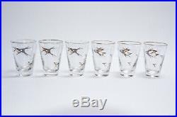 NOS MOPAR CHRYSLER FORWARD LOOK Libbey Glass FULL SET Mid-century Modern IN BOX