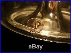 PEILL & PUTZLER Mid-Century WALL GLASS LAMP Glas Wandlampe SCONCE 1960er 1960s
