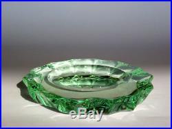 PIETRO CHIESA Fontana Arte crystal bowl 40's mid century glass italian design