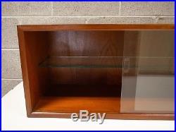 Poul Cadovius Cado Cabinet No. 9 Glass Royal System Mid Century Danish Modern