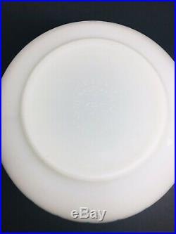 Pyrex Rare Atomic Eyes Turquoise 2 1/2 Qt Bowl Mid Century #403