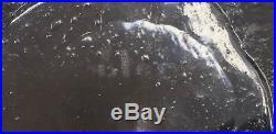 RARE Blenko Raindrops 1960 Wayne Husted 8DR Decanter Mid Century Modern Signed